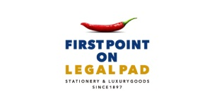 FIRST POINT ON LEAGAL PAD